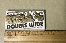 Rizla Double Wide Cigarette Rolling Paper Rare Original Vintage Find Collectible