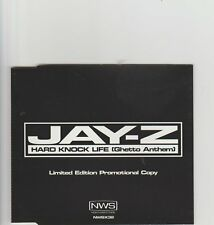 Jay-Z-Hard Knock Life UK promo cd single