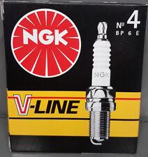 6x original NGK ZÜNDKERZE V-LINE 4 BP6E, 5637 6 Zylinder-Motoren KOMPLETT-SET #
