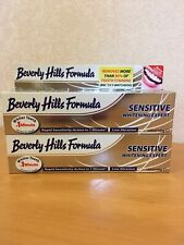 2 ❌125ml BEVERLY HILLS RAPID SENSITIVE WHITENING EXPERT LOW ABRASION TOOTHPASTE