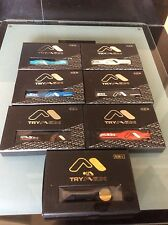 6 x Tri-Max Holographic Silicon Wrist Bands - All Sizes and Assorted Colours