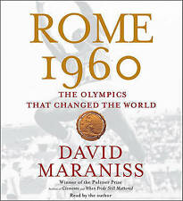 David Maraniss.  ROME 1960 - THE OLYMPICS THAT CHANGED THE WORLD.  5 CD / SEALED