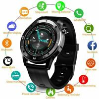 Smart Watch Bluetooth Heart Rate Blood Pressure Fitness Tracker For iOS Android