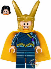 LEGO SUPER HEROES MARVEL - MINIFIGURA LOKI SET 76088 - ORIGINAL MINIFIGURE