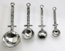 Crosby & Taylor Celtic Pewter Measuring Spoon Set without Display, New, Free Shi