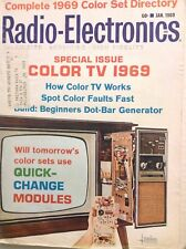 Radio-Electronics Magazine How Color TV Works January 1969 102417nonrh
