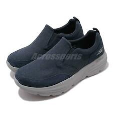 Skechers Go Walk Duro Navy Grey Men Slip On Casual Loafers Shoes 216008-NVGY
