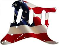 Stratocaster Pickguard Custom Fender SSS 11 Hole Guitar Pick Guard Flag US Pat