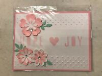 """Blank Inside Wedding /""""Wishes/"""" Greeting Card /& Envelope By Imagica BRAND NEW!"""