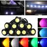 10Pcs 18mm Car Eagle Eye LED Light Daytime Running DRL Reverse Backup Lamp 12V