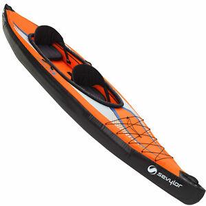 Sevylor Gonflable Pointer K2 Kayak Freizeitkajak Sport 2P Bateau 2 Personnes