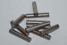 10x MIL spec Zylinderstift / Passstift v. Thales, Ø5 x 32 mm, ähnl. nach DIN6325