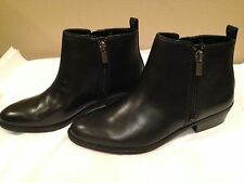 Chaps  New Ankle Boots Black Size 6B