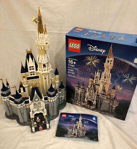 LIMITED 71040 LEGO Walt Disney World Cinderella Castle 4080 Pcs MANUAL BOX 100%!