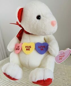 Hallmark, Hug Me, Candy Teddy Bear, Valentines, 28 Tall (11'), Sitting, NEW