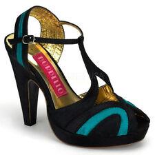 Scarpe da donna cinturini , cinturini alla caviglia tessili Numero 36
