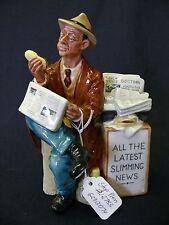 "Royal Doulton Porcelain Figurine ""Stop Press"" Hn2683"
