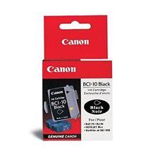 Canon bci-10bk Noir bj-30 bjc-50 bjc-70 bjc-80 bn700 (3 x 1 pcs.) --- NEUF dans sa boîte
