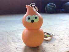 keyring zingy handmade EDF flame orange blob man Mother's Day gift