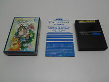 Safari Hunting Sega Mark III / Master System Japan