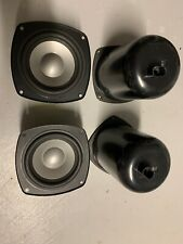 "Infinity interlude IL40 IL60 speaker 4"" midrange Pair Work Great!"