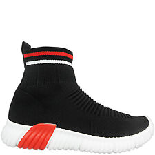 Ladies Womens Stretch Sock Wedge Sneakers Pumps Trainers Runners Sports Shoes