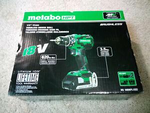 Metabo Brushless 18v Lithium Ion Driver Drill HPT DS18DBFL2E (Bare Tool)