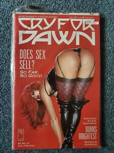 """Cry For Dawn Issue #5 Limited Edition """"Does Sex Sell?"""" Cover"""