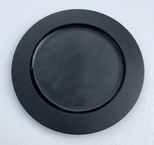 "Wedgwood Night and Day Black Wood Charger 13"" ~new~"
