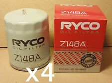 Z148A RYCO Oil Filter X4 BULK for Mazda Rotary R100 RX2 RX3 RX4 RX5 RX-7 SA22C