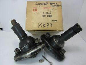 57-64 Edsel Ford Mercury Lower Ball Joint Pair AUTOPAR BJ44 K8179