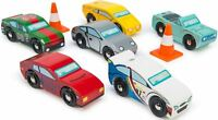 Le Toy Van MONTECARLO SPORTS CARS 6 Pack Wooden Race Vehicles Child/Kid BN