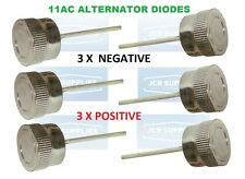 6x LUCAS 11 AC ALTERNATOR RECTIFIER DIODE PACK DIODES 3x POS and 3x NEG