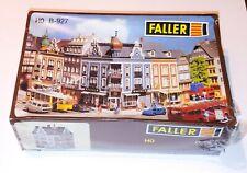 FALLER  HO B-929 CORNER BUILDING SUN PHARMACY - ORIGINAL SHRINK Western Germany
