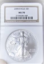 2008 Silver Eagle Dollar  NGC- MS70