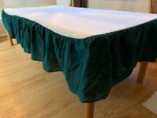 New listing Full / Double Bed Skirt Dust Ruffle14� Drop Green by Westpoint Stevens