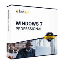 Windows 7 Professional - 32 & 64 Bit - Download - 1 PC - Produktschlüssel