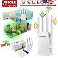 Wifi Range Extender Booster Wireless Amplifier Router Gigabit Network Repeater