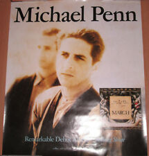 "Michael Penn ""March"", Rca promotional poster, 1989, 19x22, Ex, Sean Penn's bro"