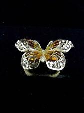 bague papillon or jaune 18carats(750/1000)