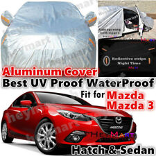 For Mazda 3 sedan hatchback Car cover Guarantee waterproof Aluminum car cover