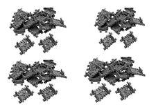 LEGO® City / Eisenbahn  / 64 x Flex Schienen / Beweglich gerade oder gebogen