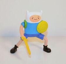 "2014 Sword Swinging Finn 3.5"" McDonald's Action Figure #5 Adventure Time"