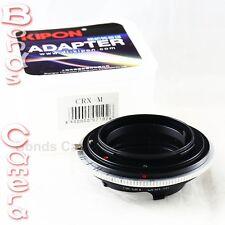 Kipon Contarex CRX mount lens to Leica M Adapter M9 240 M-E Rangefinder Liveview