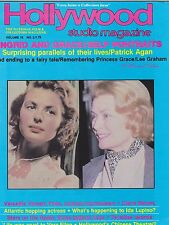 FEB 1983 HOLLYWOOD STUDIO vintage movie magazine - INGRID BERGMAN