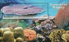 Malaysia Living Corals  2013 Underwater Life Reef Marine Ocean Sea (ms) MNH