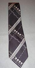 Don Loper Of California Vintage And Unique Neck Tie Blue Gray*