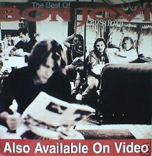 "Bon Jovi ""Crossroads - Best Of Bon Jovi"" Large U.K. Promo Poster- Classic Rock"