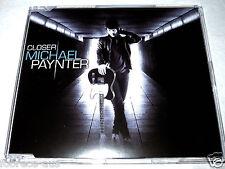 cd-single, Michael Paynter - Closer, 3 Tracks, Australia