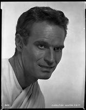 CHARLTON HESTON ORIG MGM STUDIO NEGATIVE PHOTO BEN-HUR CLARENCE SINCLAIR BULL